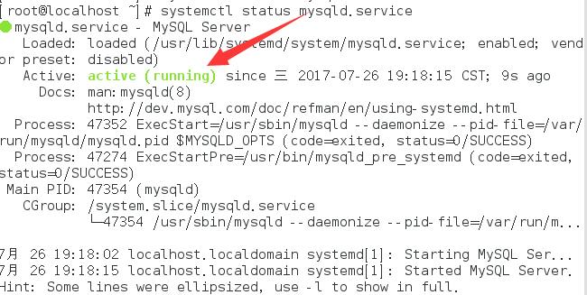 CentOS7 yum方式安装MySQL5.7-2