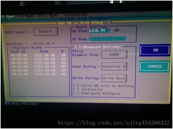 DELL R720 配置RAID及安装系统-11