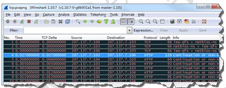 Wireshark分析非标准端口号流量-3