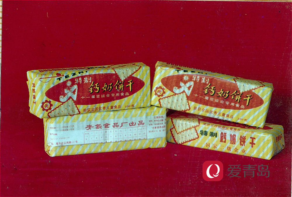 80后的钙奶饼干记忆,油蜡纸包装钙奶饼干-3