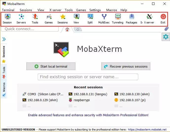 全能终端神器——MobaXterm-4