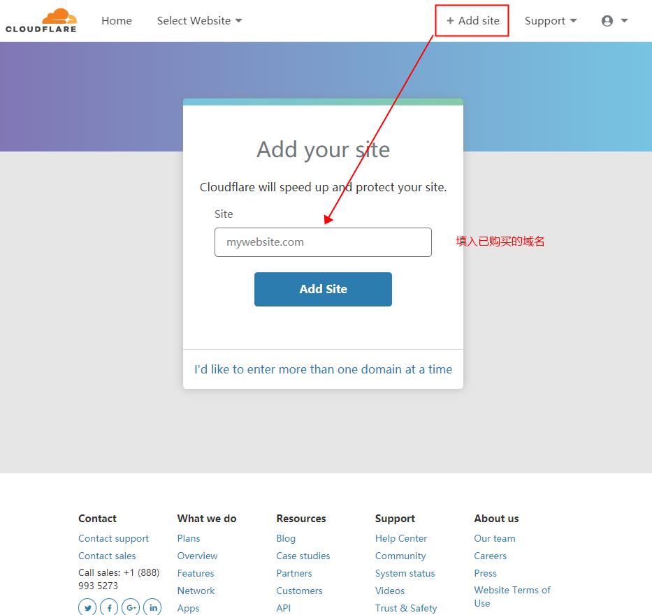 cloudflare 加https、加SSL(加CF处理)实操流程-1