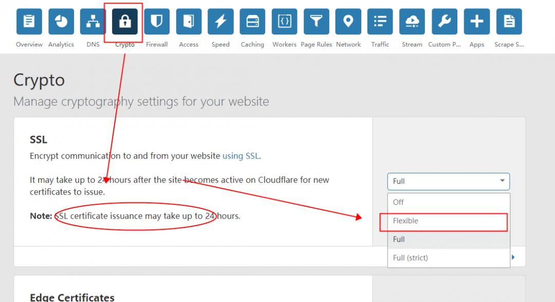 cloudflare 加https、加SSL(加CF处理)实操流程-8