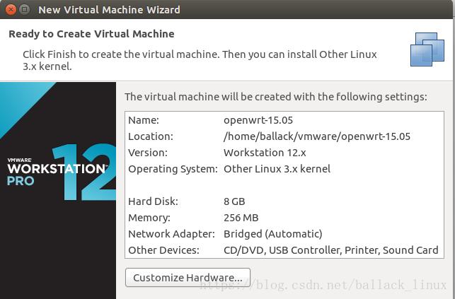 vmware虚拟机下搭建openwrt路由系统-16