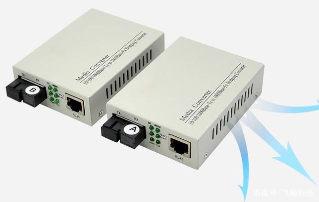 如何使用光纤收发器的AB端?A端是发射端?B端是接收端?-1