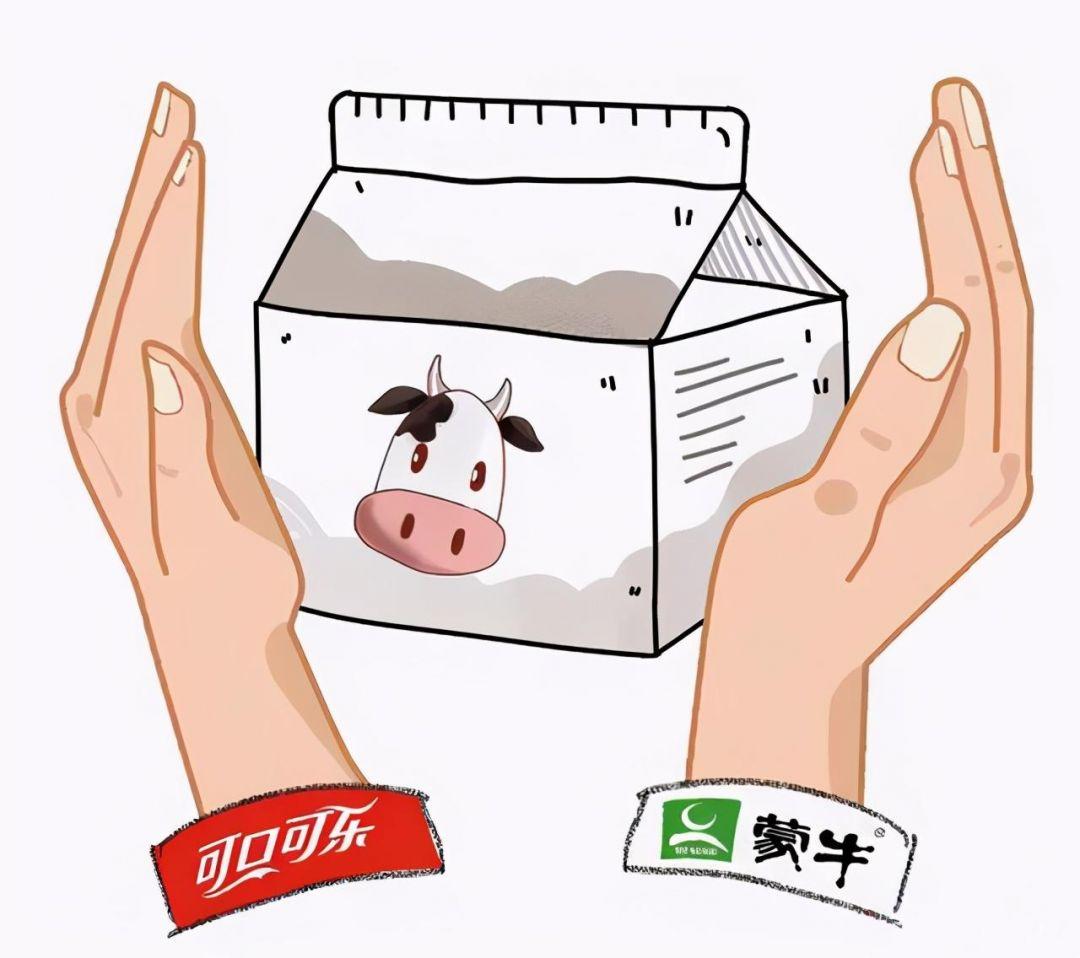 """蒙牛联手可口可乐成立新公司""""可牛了"""",伊利随后成立""""伊知牛""""-1"""