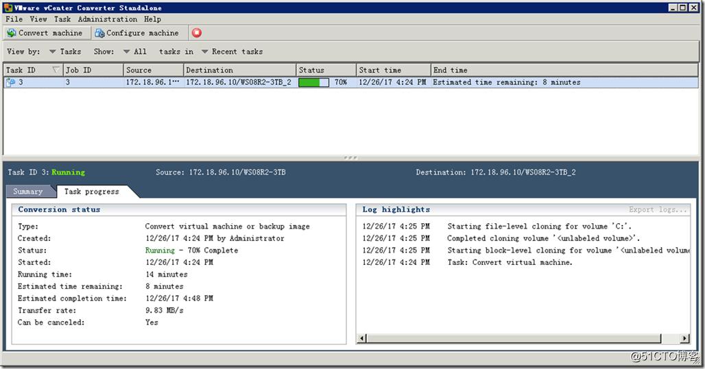 ESXi虚拟机磁盘格式转换与减小硬盘容量的方法-19