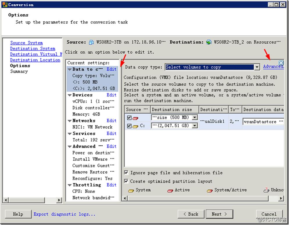 ESXi虚拟机磁盘格式转换与减小硬盘容量的方法-17