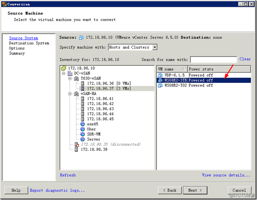 ESXi虚拟机磁盘格式转换与减小硬盘容量的方法-14
