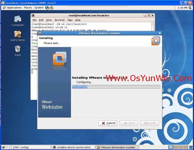 在Linux系统下的虚拟机VMware-Workstation中安装Windows Server 2012-11