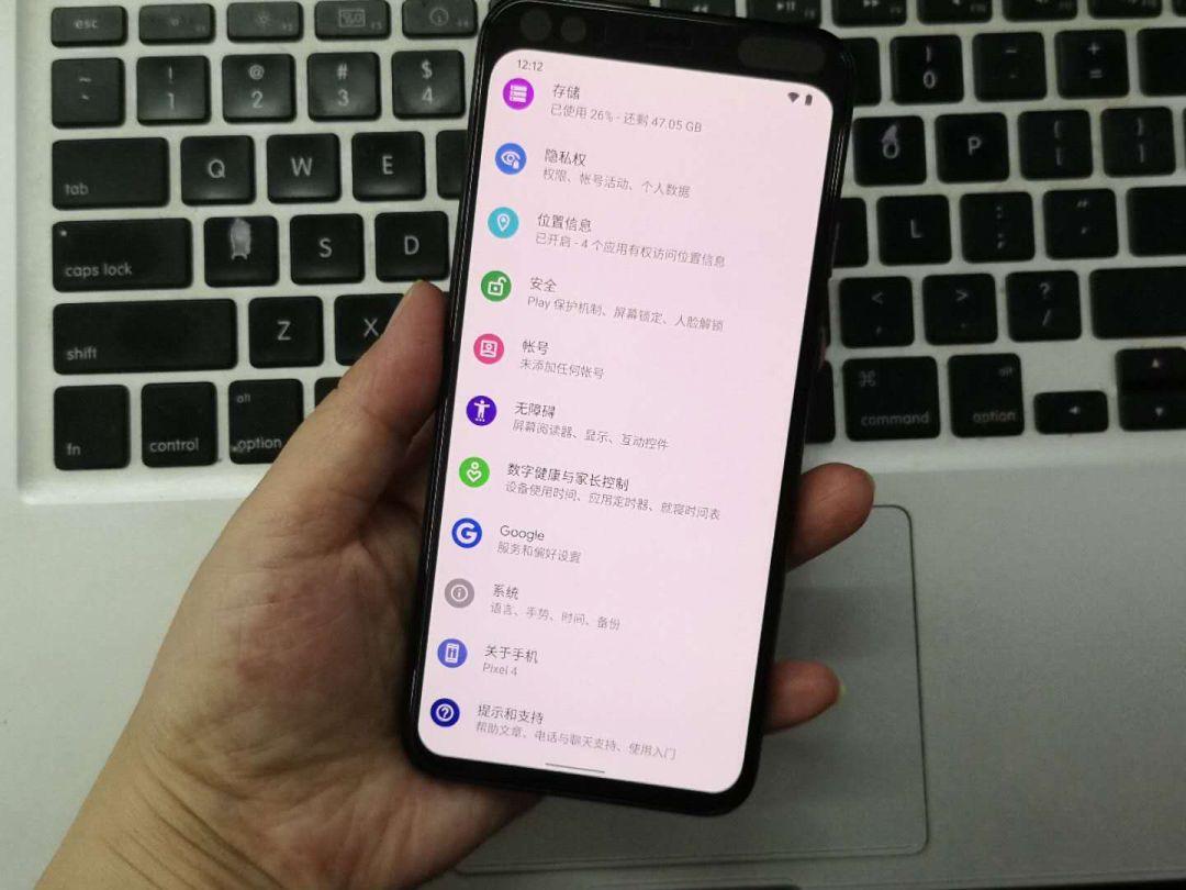 谷歌亲儿子pixel 3A 手机实物图-1